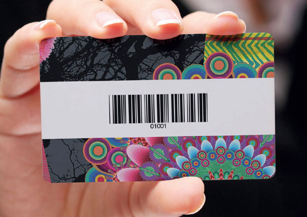 Cards with Barcode